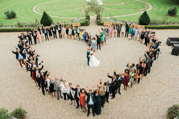 Mon mariage de princesse saveur citron : le vin d'honneur et les photos de groupe