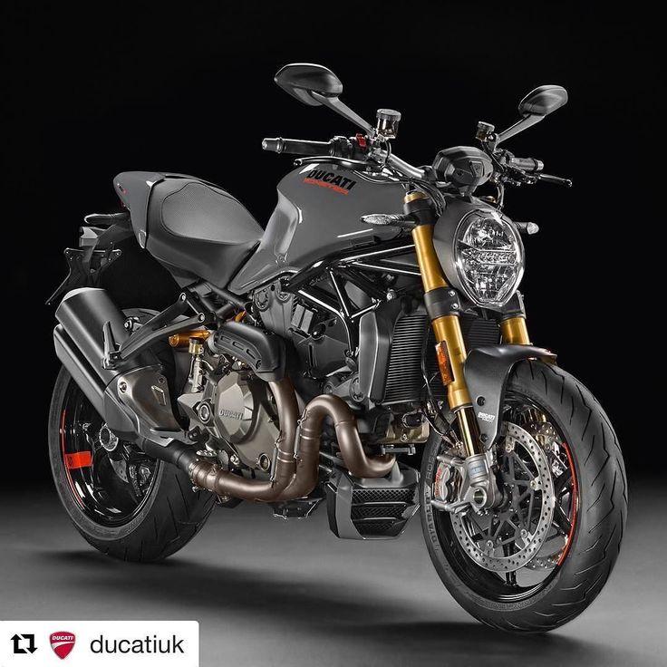 The Monster 1200 S sharpens the Monster sports performance to an even finer edge #Ducati #Ducati2017 #Monster1200S #iridemonster smcbikes.com http://ift.tt/2eQmzr4