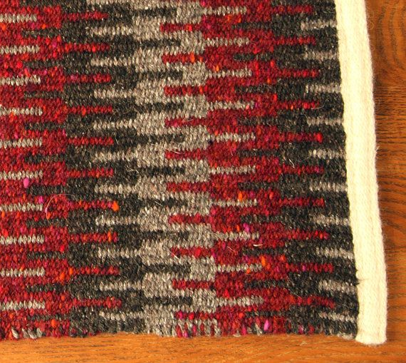 Handwoven Table Runner  Krokbragd by ThornFiberArts on Etsy, $70.00