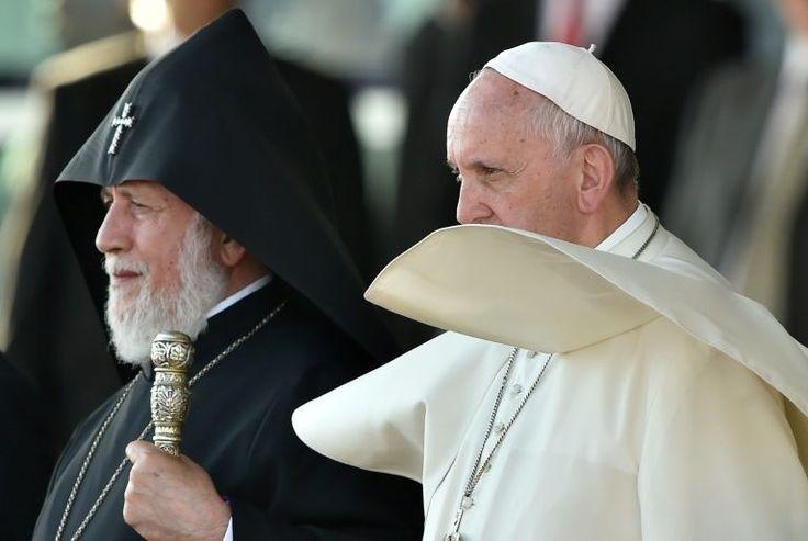 da la vaissiere images | Papa conclui visita a Armênia ao pé do monte Ararat