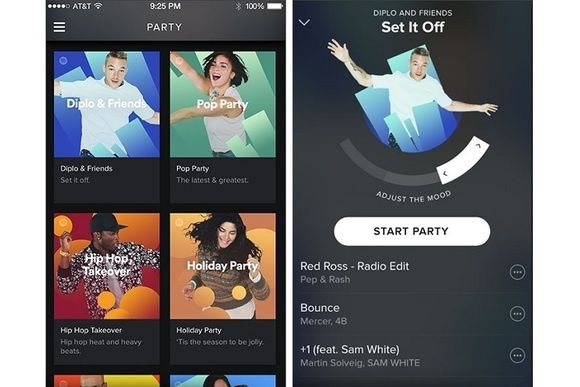 Party Mode With Set Mood Slider Google Søk