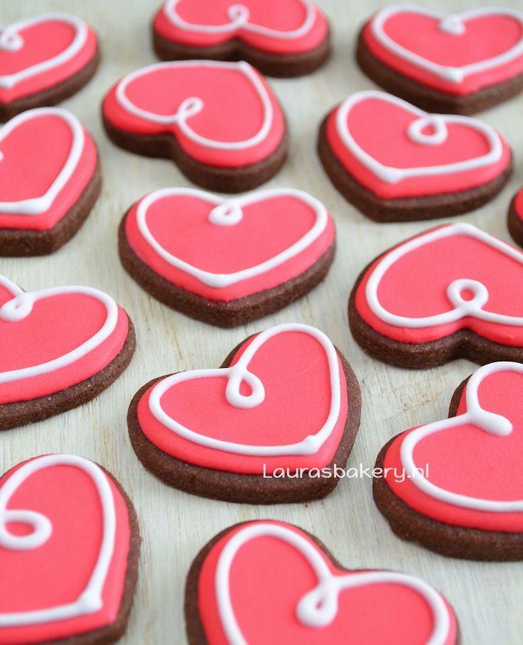 Mini harten koekjes