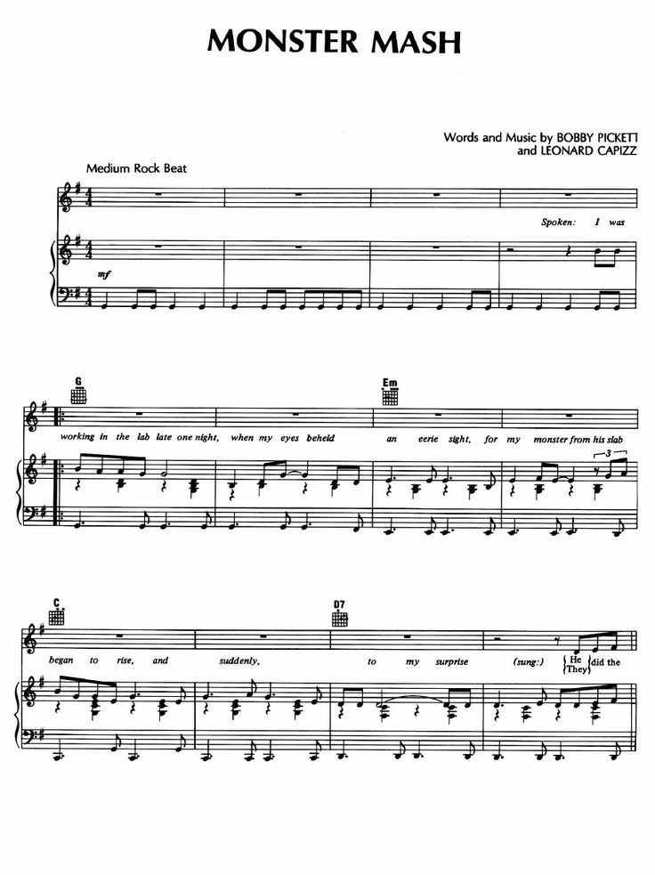 8 best haunted house piano sheet music for parker images for Vocal house songs