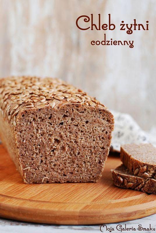 Galeria Smaku: Chleb żytni codzienny