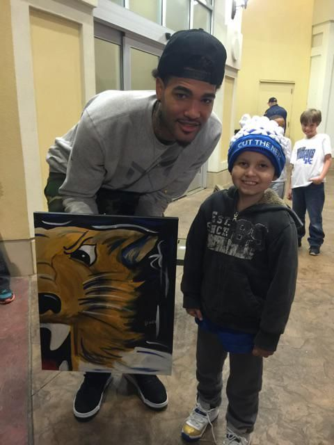 Blake Hundley gave Willie a painting, and now needs your prayers | Kentucky Sports Radio