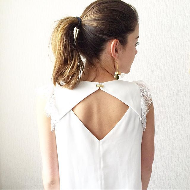 Les 25 meilleures id es de la cat gorie blouses blanches for Couture a reims