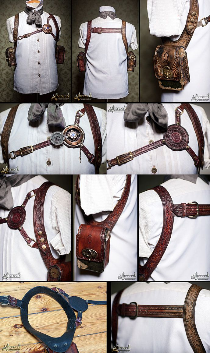 shoulder halters by Aetherwerk