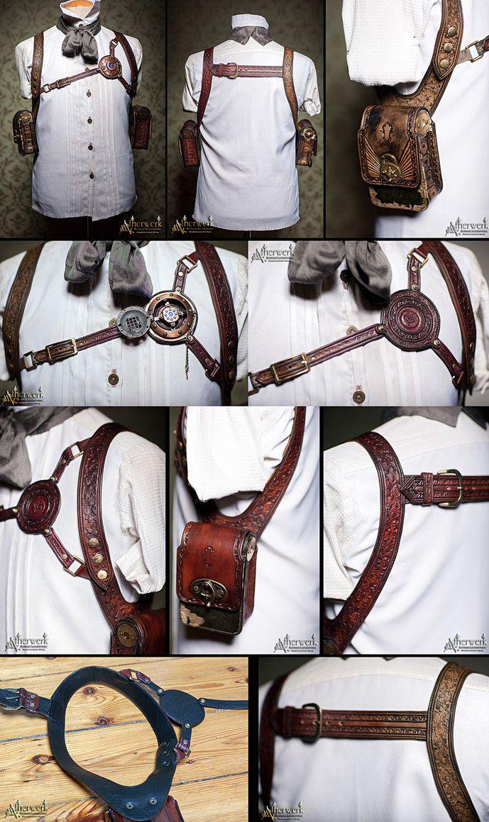 shoulder halters by Aetherwerk