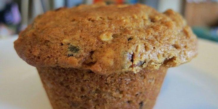 muffin de manzana y avena
