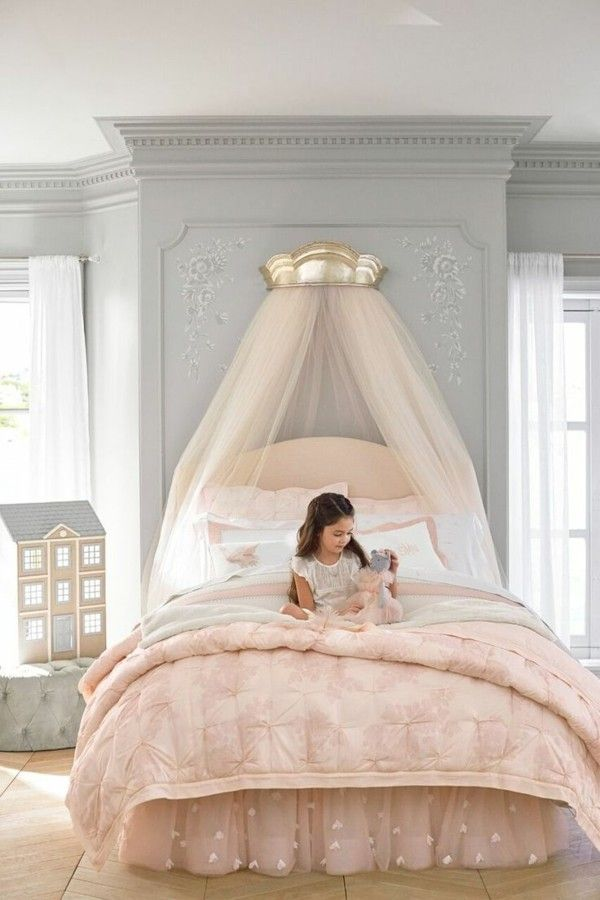 Die besten 25 wandgestaltung schlafzimmer ideen auf for Baldachin kinderzimmer