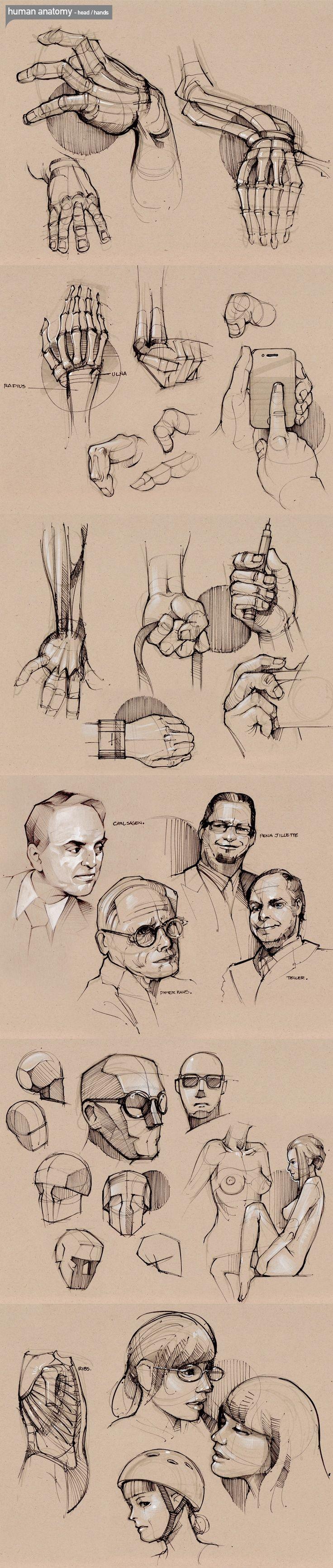 rosto mão