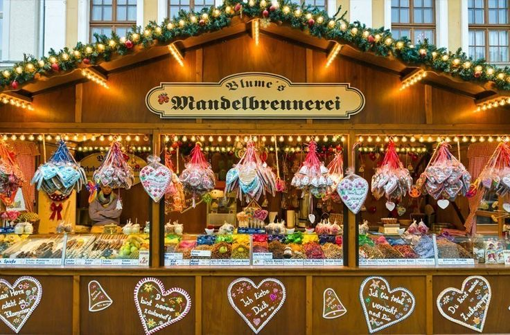 Christmas market in the old town of Potsdam. Selling traditional sweets and gingerbread   10 Best Christmas Markets in Germany