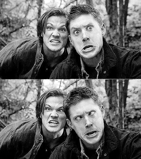 Supernatura They balance each other out in their friendship. Jared is very outgoing compared to Jensen, but Jensen becomes just a little more comfortable being goofy when his best friend is around. :)