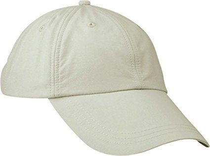 Adams Sunshield Unconstructed Blended Cap with UV Protection - Stone