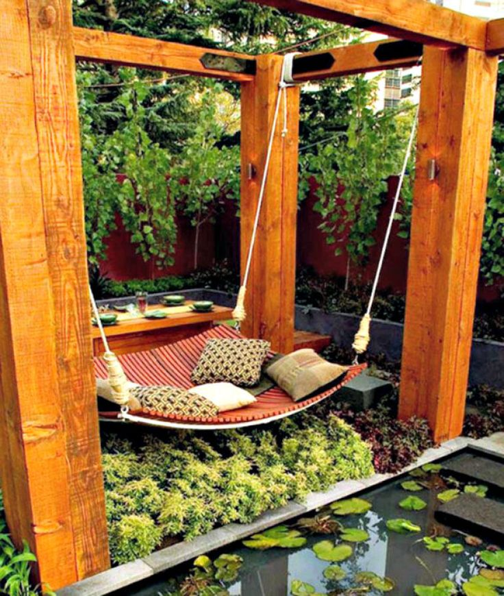 How About This Garden Day Bed? It Beats Mowing the Lawn.