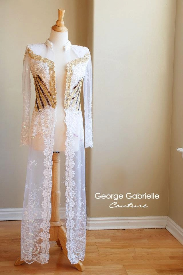 Indonesian Kebaya Wedding Dress Gown Custom Boutique Lace