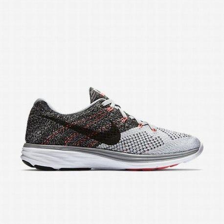 best service e96e3 8724d ... closeout nike womens wolf grey white hot lava black flyknit lunar 3  running shoe flyknit lunar