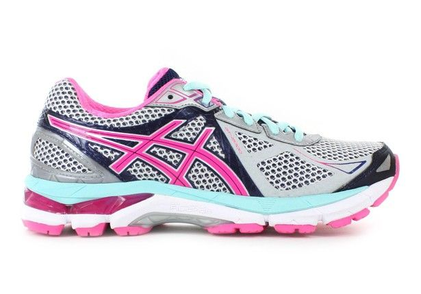 ASICS Womens GT-2000 3 (2A) Lightning/Hot Pink/Navy - Mild Stability Fit