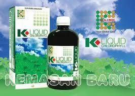 K Link Klorofil Ready Kemasan Baru KOMPOSISI K Liquid Chlorophill:  Sari Daun Alfalfa yang mengandung : Sodium, Copper, Chlorophyllin, Vit A, B-Complex, C, E, Calsium, Magnesium, Pospor, Asam Amino, Alpha & Beta Carotine + UIE (Universe Induce Energy).