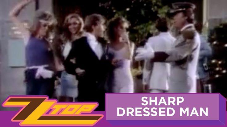 ZZ Top - Sharp Dressed Man (OFFICIAL MUSIC VIDEO) Billy Gibbons (guitarist) born December 16, 1949