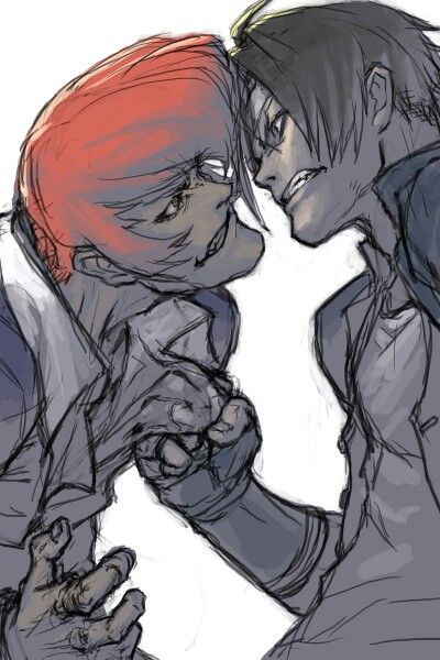 Iori Yagami and Kyo Kusanagu: Ancient Enemies/Best Friends- King of Fighters