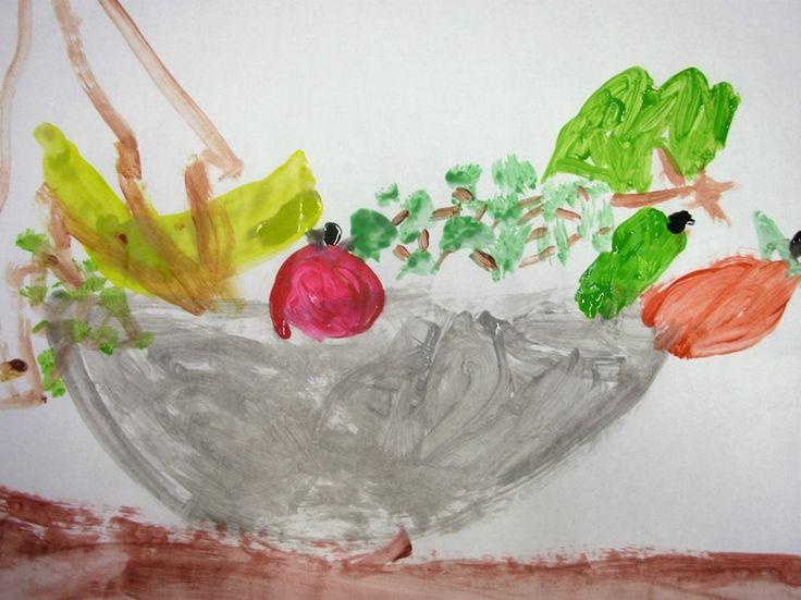 Ζωγραφική Δημιουργία από μαθητή του Νοτίου, ηλικίας 7,5 ετών.