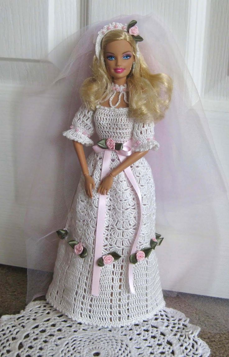 17 Best images about Barbie and other doll clothes on Pinterest Crochet bar...
