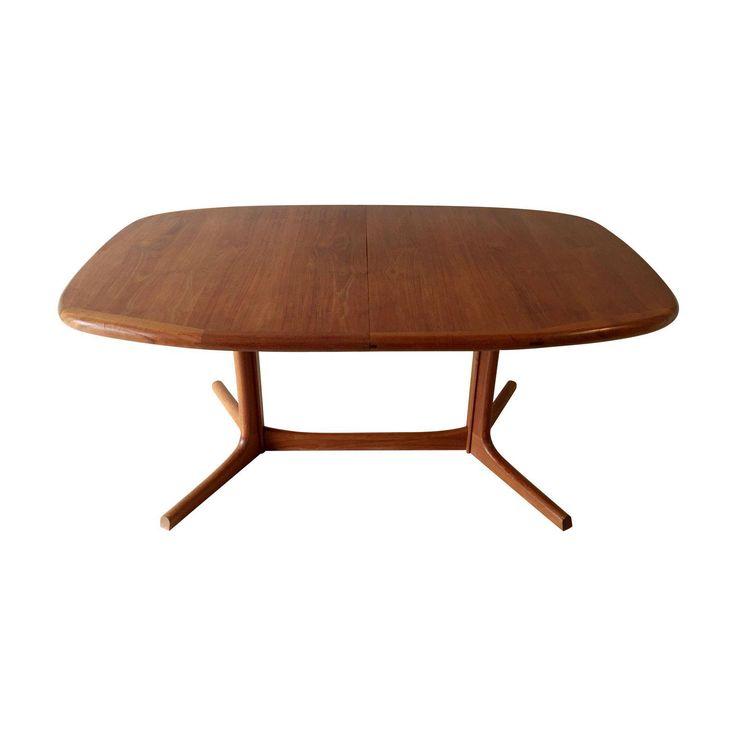 Vintage Danish Dyrlund Teak Dining Table - Image 1 of 8