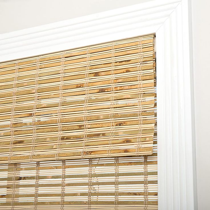 Arlo Blinds Petite Rustique Cordless Bamboo Roman Shade | Overstock.com Shopping - The Best Deals on Blinds & Shades