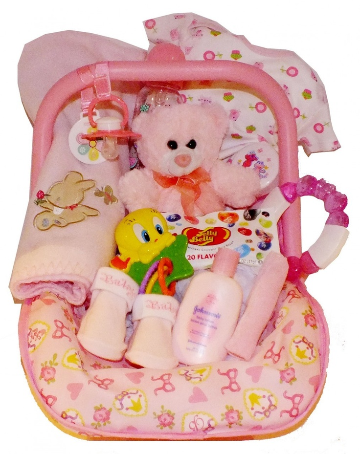 Baby Gift Ideas To Send : Best baby girl gift baskets ideas on