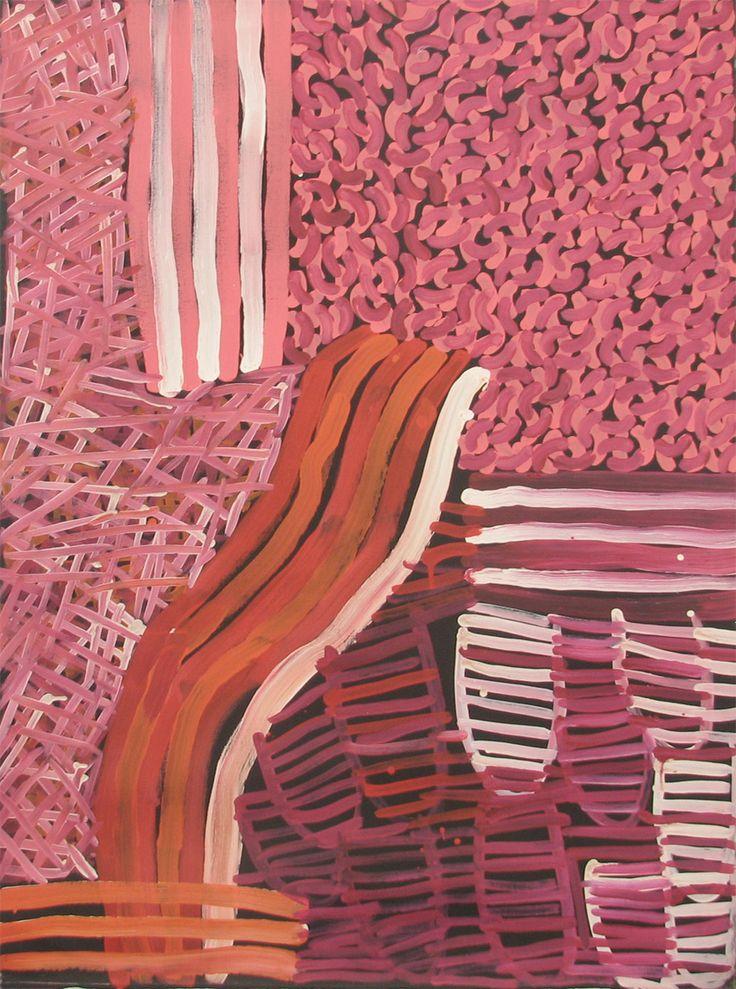 Minnie, Emily, Galya, Molly Pwerle / Awelye Atnwengerrp  2005  91 x 122cm