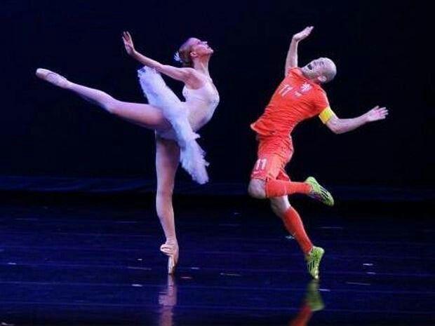 No era penal!. Robben