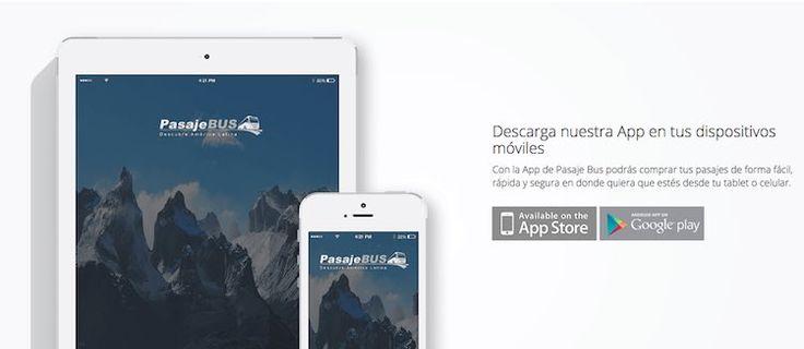 app-pasajebus PasajeBus: Una aplicación destinada a hacer tus viajes más tranquilos