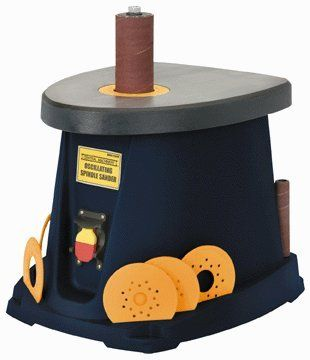 Save $ 10 order now Central Machinery 14″ Oscillating Spindle Sander at Po