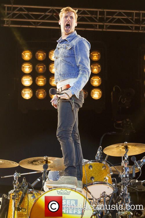 Ricky Wilson frontman of the Kaiser Chiefs @ MTV Crashes Plymouth