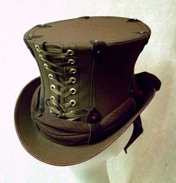 steam punk ladies skirt pattern | Steampunk Hats Women