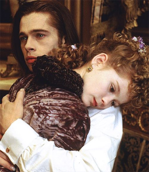 Kirsten Dunst & Brad Pitt (Claudia & Louis de Pointe du Lac) Interview with the Vampire 1994
