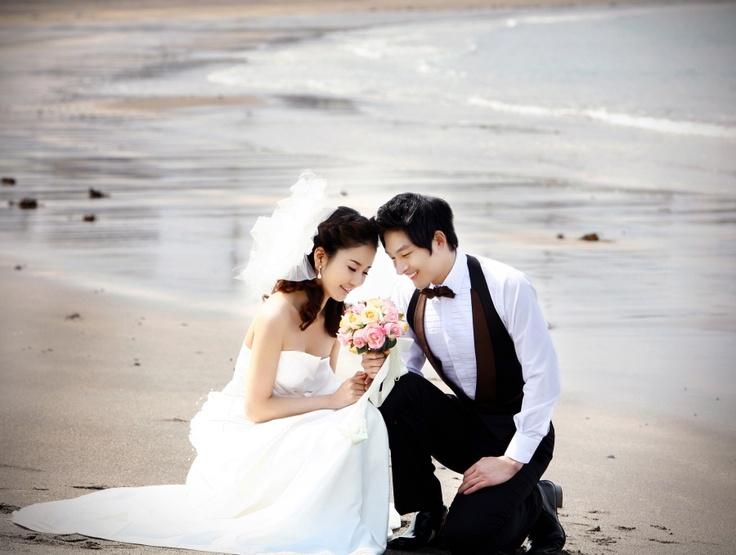 Korean Wedding Photo - Outdoor