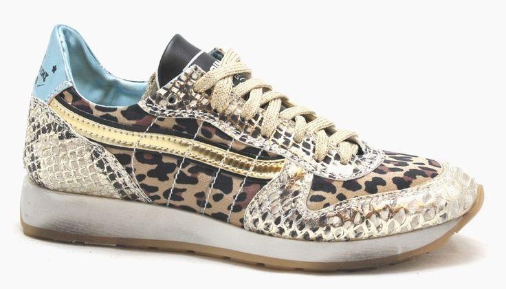 Running sneakers met luipaardprint van Prima Base. €209,95 #running #sneakers #runners #primabase #trend