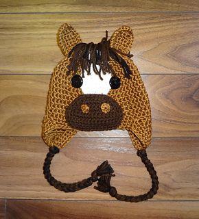Horse Hat Crochet Pattern pattern by Sheri Wentzell
