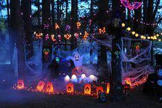 Halloween camping on Pinterest | Golf Carts, Halloween Displays ...