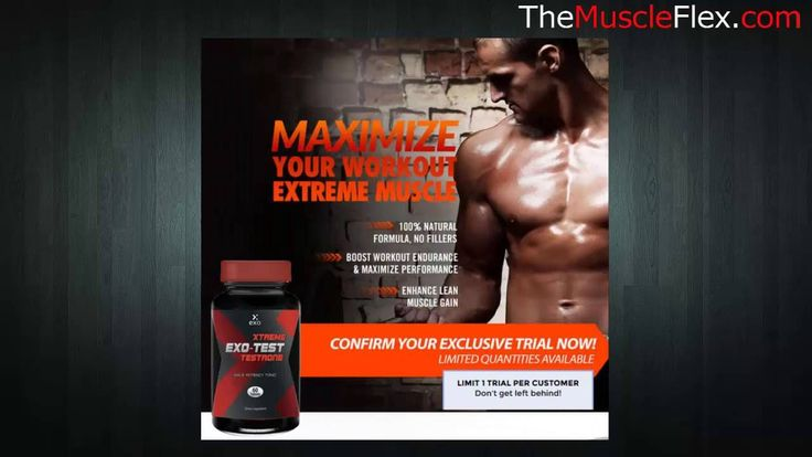 Xtreme Exo Test Testrone Review - Treatment For Low #Testosterone