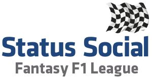 Status Social Fantasy F1 League 2013 results - week 1