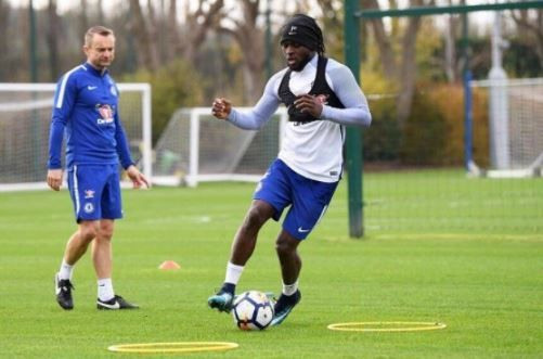 FOW 24 NEWS: Chelsea Player, Victor Moses Returns to Training