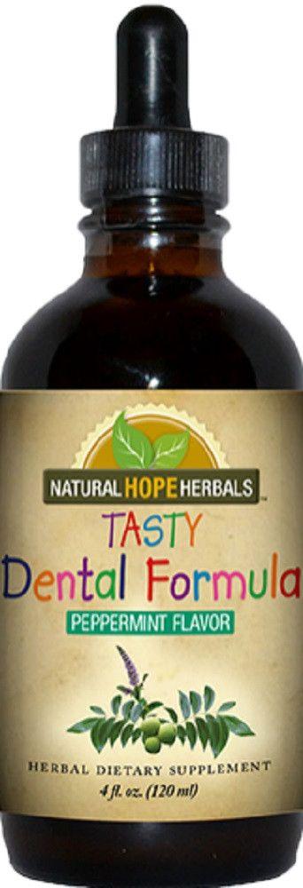 Children's TASTY DENTAL Gentle and Tasty Herbal Tincture Formula