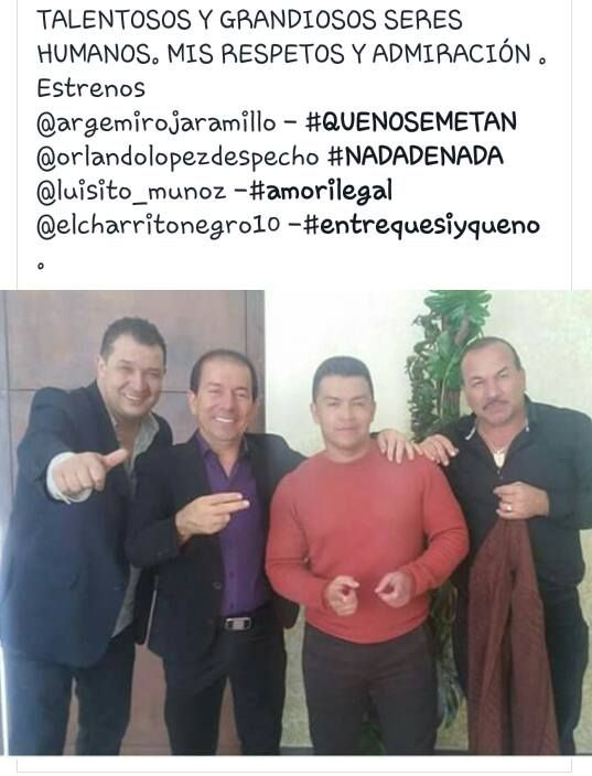 https://www.instagram.com/orlandolopezdespecho/  GRANDES MUSICOS - #TUIMAGENYELTRAGO