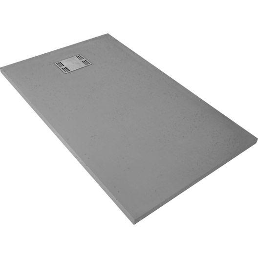 receveur de douche slate gris rectangulaire 140 x 90 cm