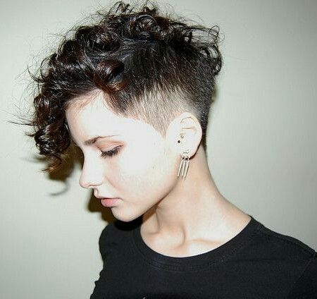 Curly undercut                                                                                                                                                                                 More