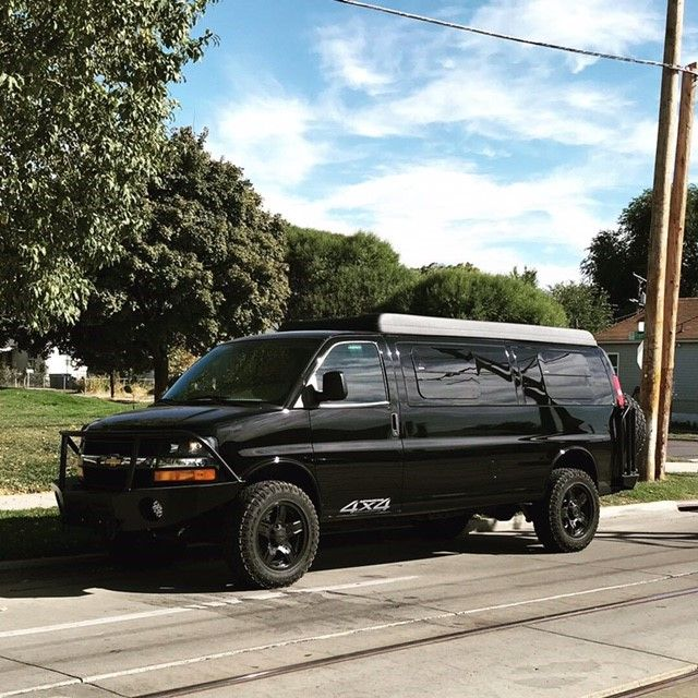 4x4 Chevy Van Done By Advanced 4x4 In Salt Lake City Utah 3