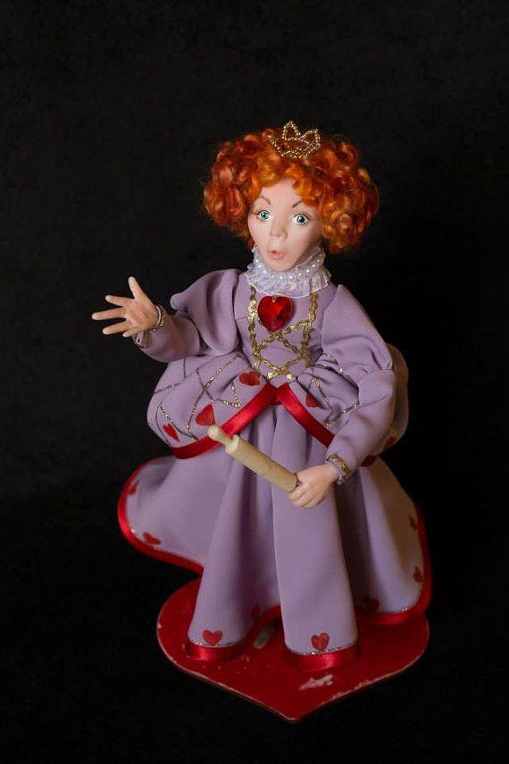 Dolls – Queen of Hearts Art Doll – a unique product by Elena-harf4g on DaWanda